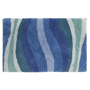 CREATIVE BATH Wavelength R1251BLU коврик 53х81